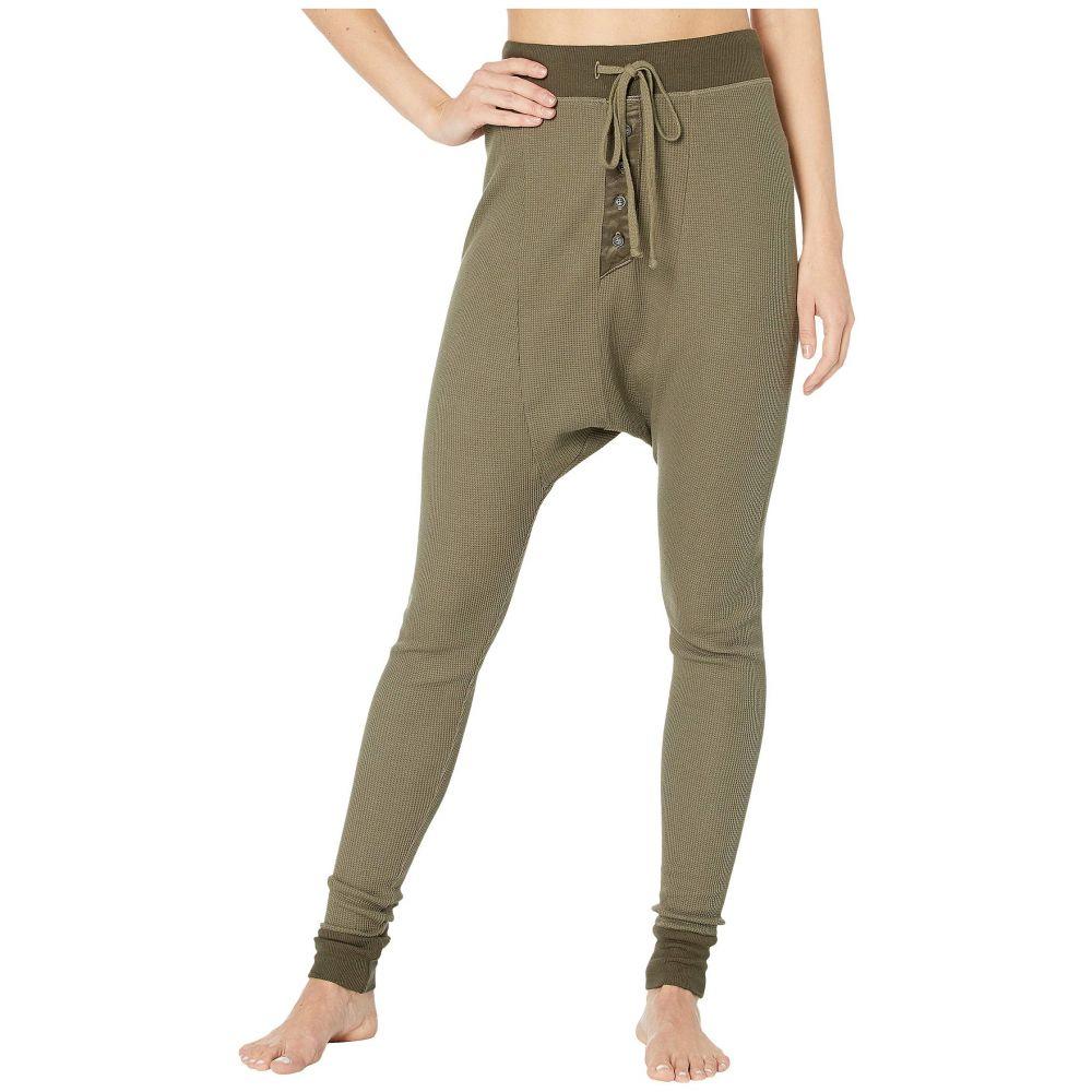 ハードテイル Hard Tail レディース ボトムス・パンツ 【Thermal Harem Pants】Olive Drab