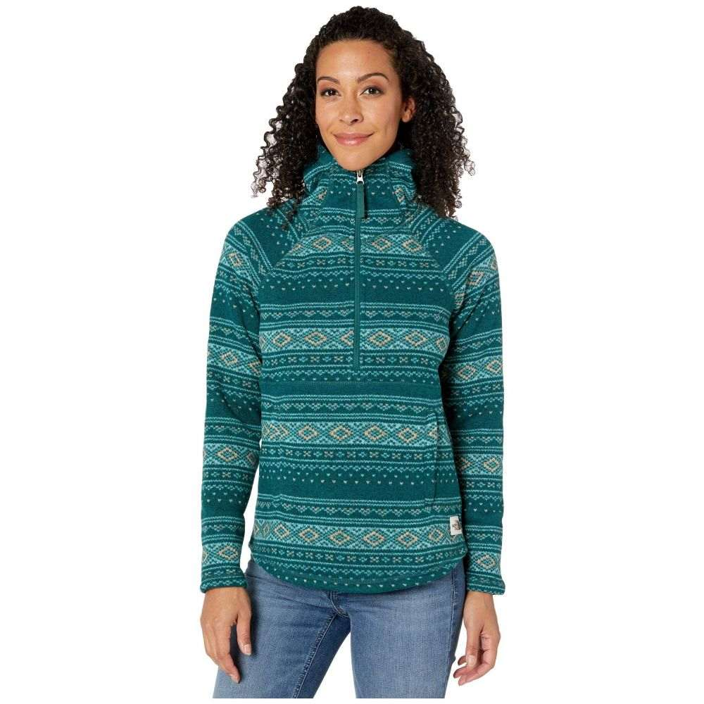 ザ ノースフェイス The North Face レディース ジャケット アウター【Printed Crescent Hooded Pullover】Ponderosa Green Fair Isle Print