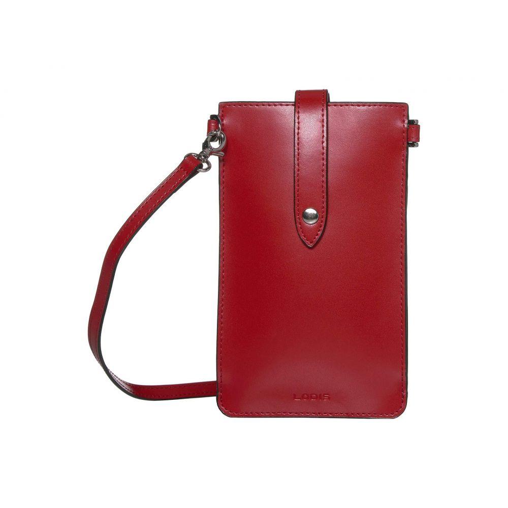ロディス アクセサリー Lodis Accessories レディース ショルダーバッグ バッグ【Audrey Under Lock & Key Phone Crossbody】Red