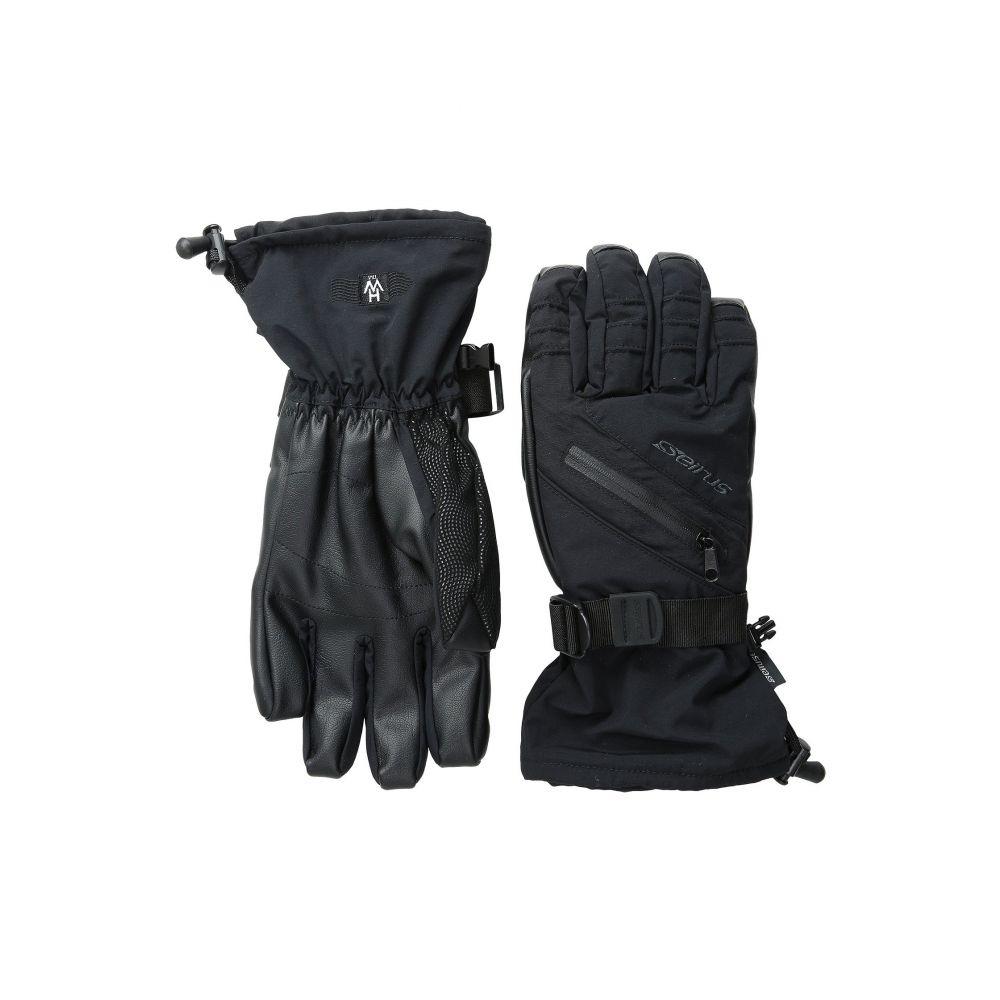 セイラス Seirus メンズ スキー・スノーボード グローブ【Heatwave Plus Daze Glove】Black