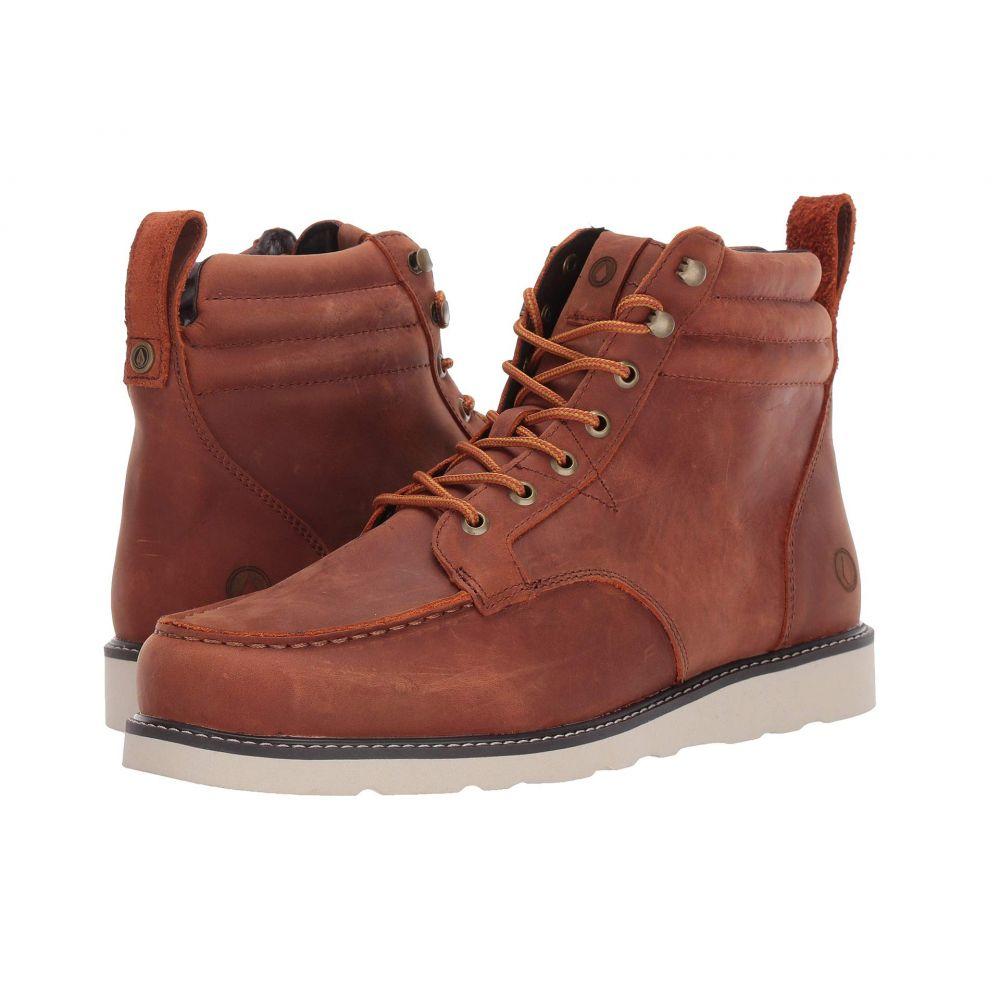 ボルコム Volcom メンズ ブーツ シューズ・靴【Willington Boot】Rust