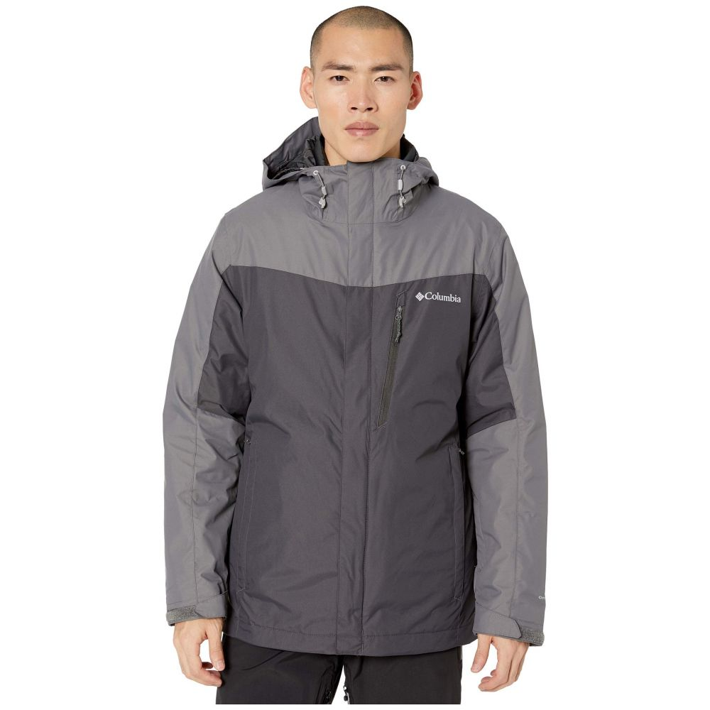 コロンビア Columbia メンズ ジャケット アウター【Whirlibird(TM) IV Interchange Jacket】Shark/City Grey