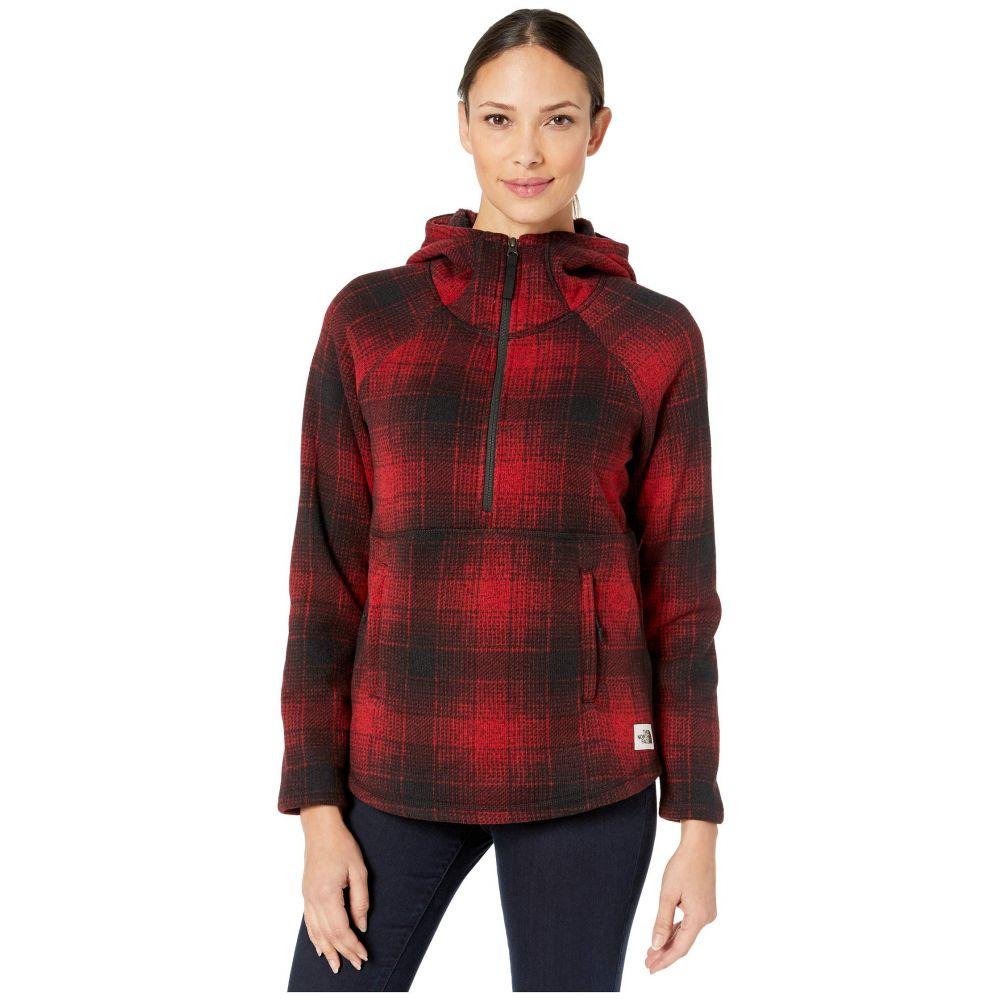 ザ ノースフェイス The North Face レディース ジャケット アウター【Printed Crescent Hooded Pullover】TNF Red Ombre Plaid Small Print
