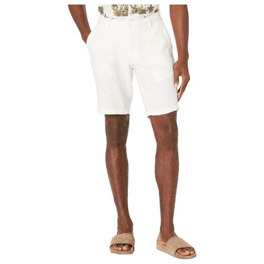 オニア onia メンズ ショートパンツ ボトムス・パンツ【Austin Linen Shorts】White