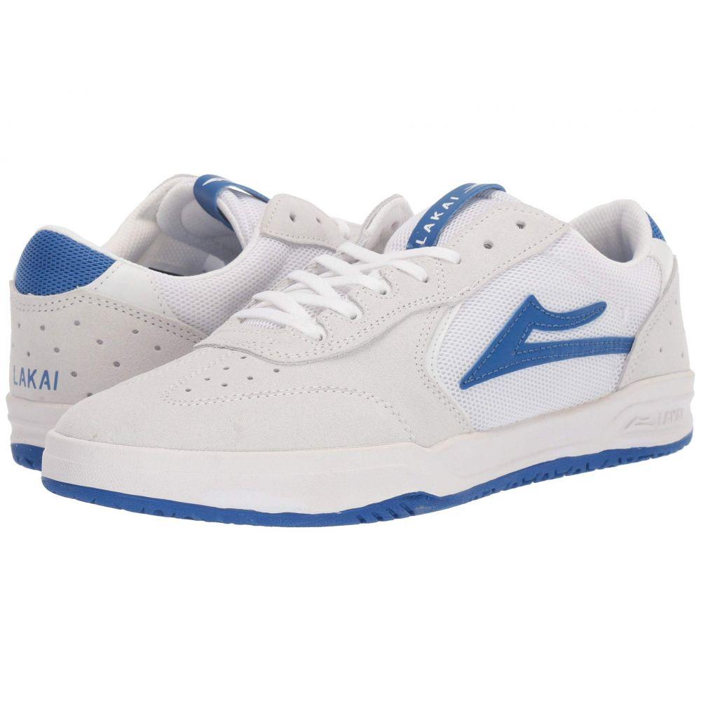 ラカイ Lakai メンズ スニーカー シューズ・靴【Atlantic】White/Blue Suede