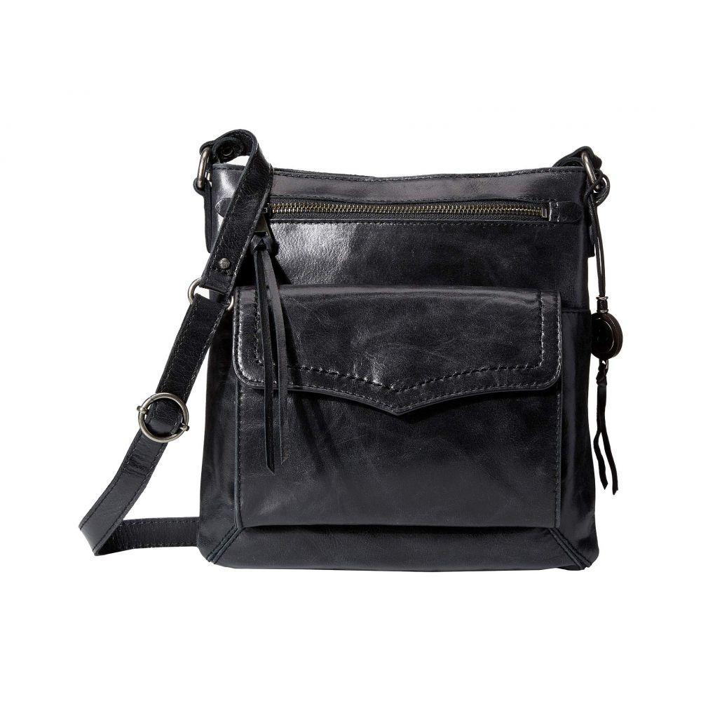 ザ サク The Sak レディース ショルダーバッグ バッグ【Ventura Leather Flap Organizer Crossbody】Black