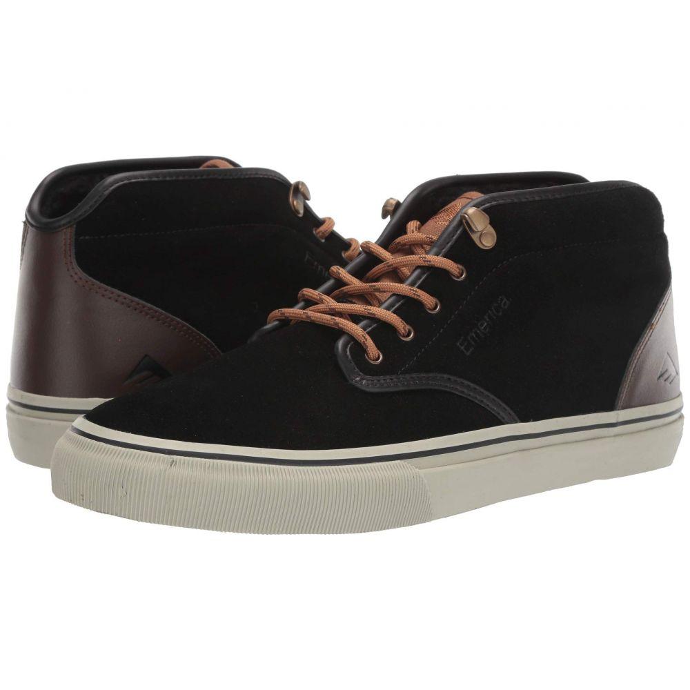 エメリカ Emerica メンズ スニーカー シューズ・靴【Wino G6 Mid】Black/Brown/Grey