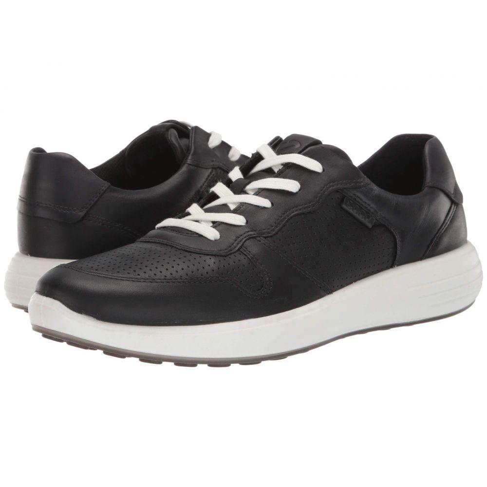 エコー ECCO メンズ スニーカー シューズ・靴【Soft 7 Runner Perforated】Black/Black