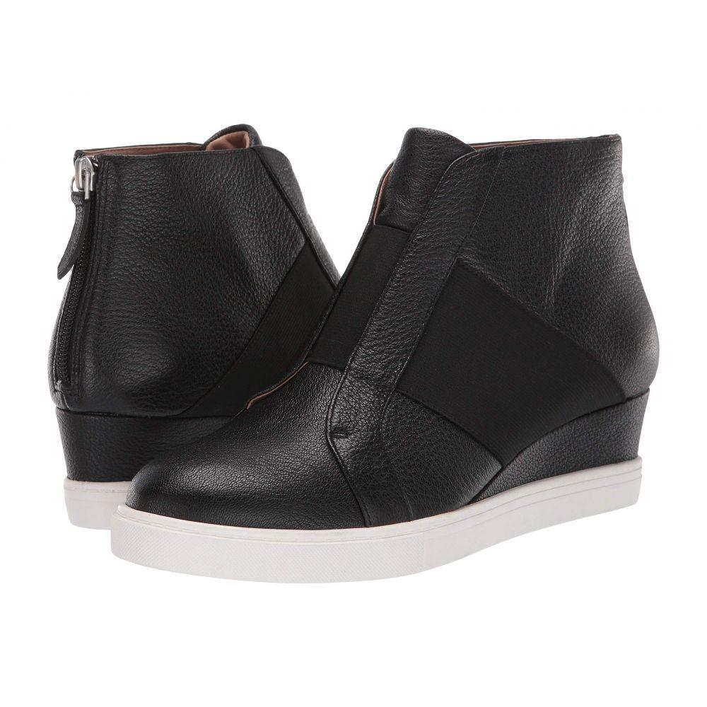 リネアパウロ LINEA Paolo レディース スニーカー シューズ・靴【Amber】Black Leather