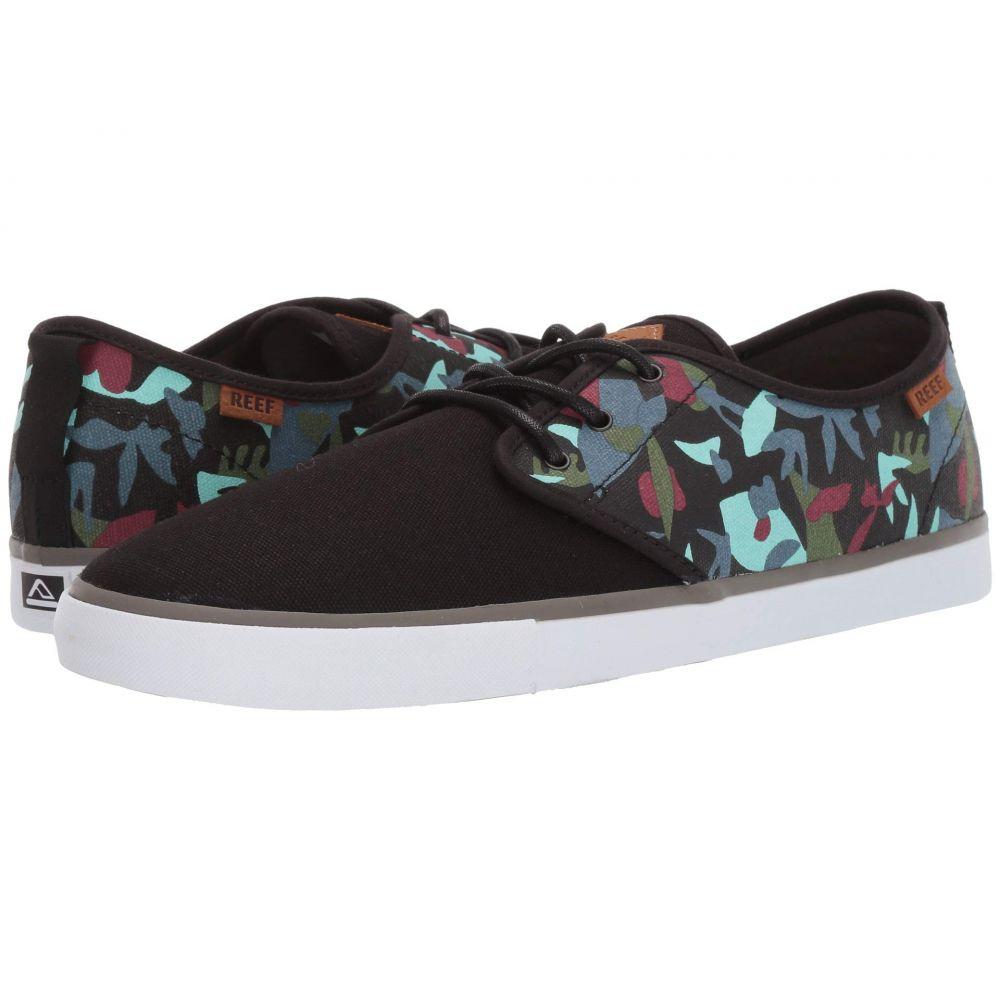 リーフ Reef メンズ スニーカー シューズ・靴【Landis 2 Prints】Black/Tropicolor