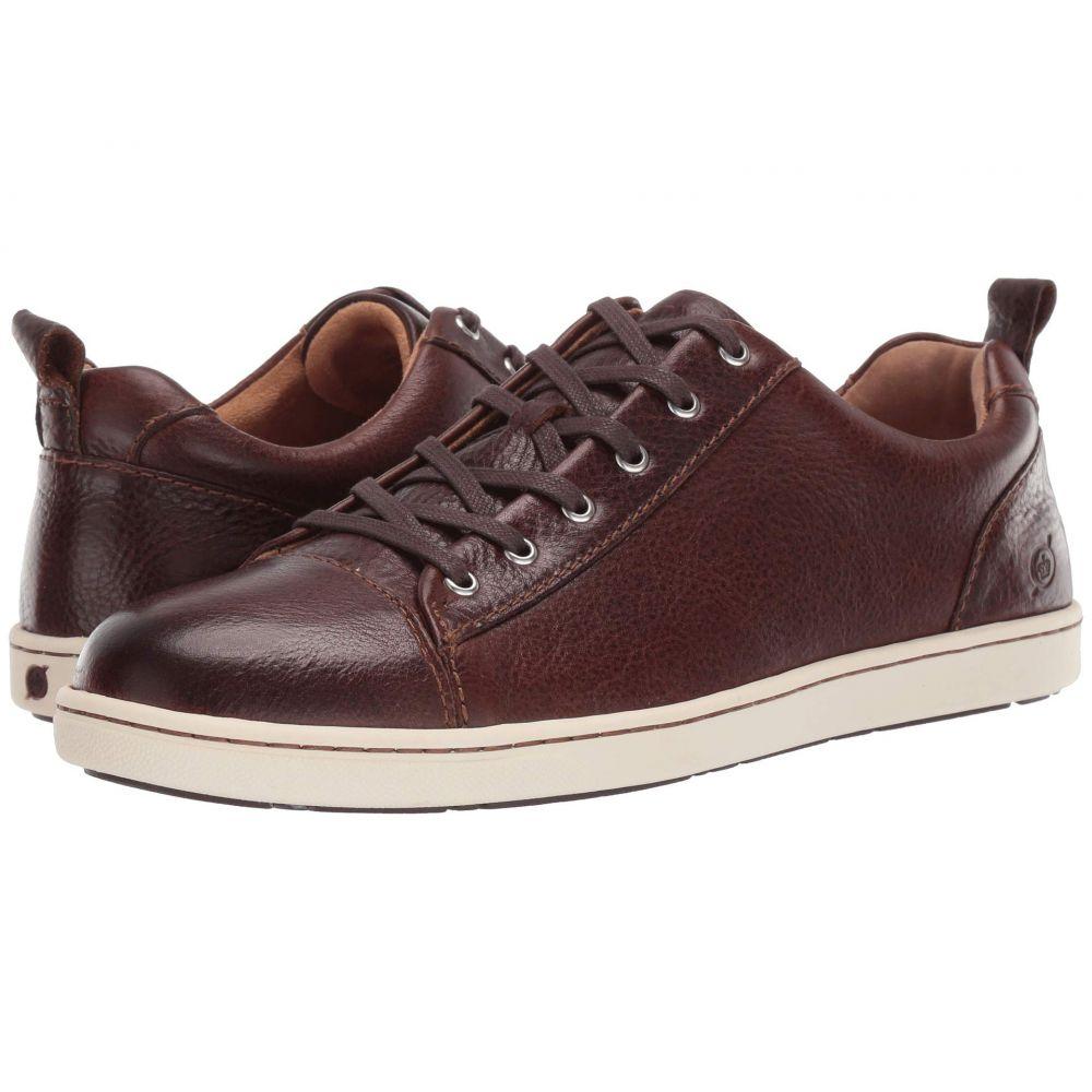 ボーン Born メンズ スニーカー シューズ・靴【Allegheny】Brown Full Grain Leather