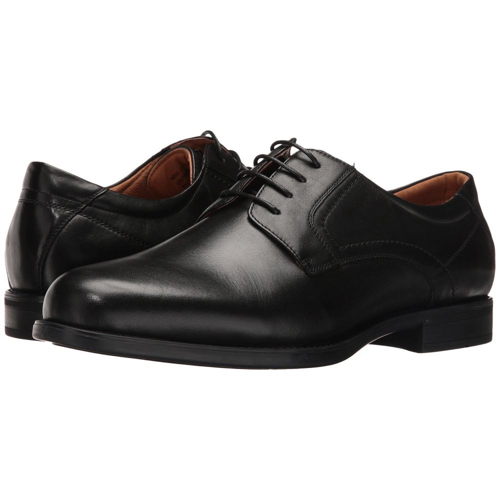フローシャイム Florsheim メンズ 革靴・ビジネスシューズ シューズ・靴【Midtown Plain Toe Oxford】Black Smooth