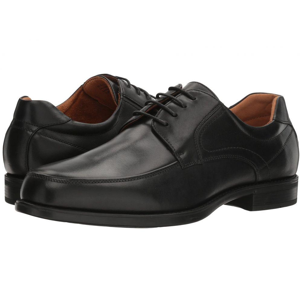 フローシャイム Florsheim メンズ 革靴・ビジネスシューズ モックトゥ シューズ・靴【Midtown Moc Toe Oxford】Black Smooth