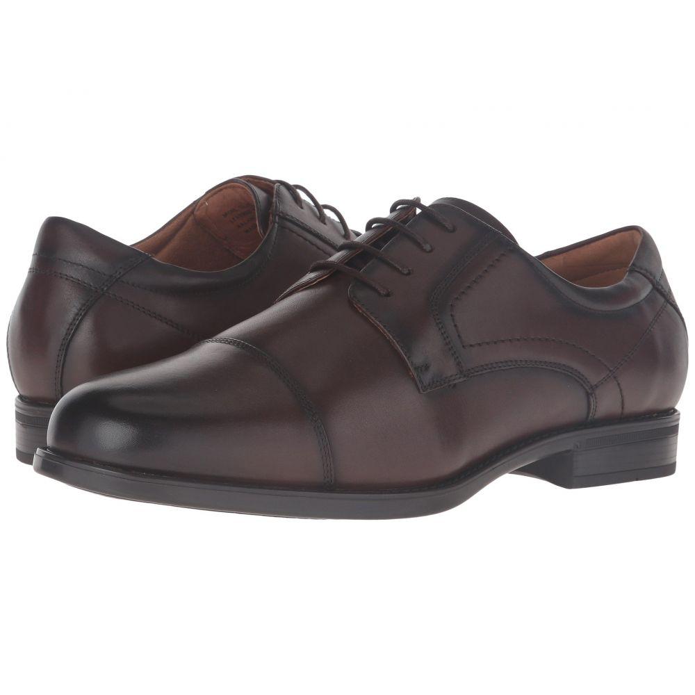 フローシャイム Florsheim メンズ 革靴・ビジネスシューズ シューズ・靴【Midtown Cap Toe Oxford】Brown Smooth