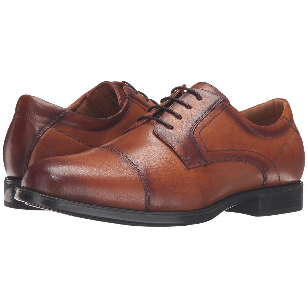 フローシャイム Florsheim メンズ 革靴・ビジネスシューズ シューズ・靴【Midtown Cap Toe Oxford】Cognac Smooth