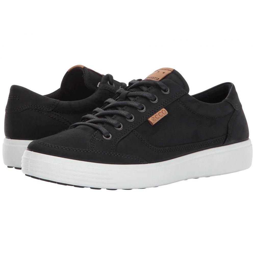 エコー ECCO メンズ スニーカー シューズ・靴【Soft Retro Sneaker】Black