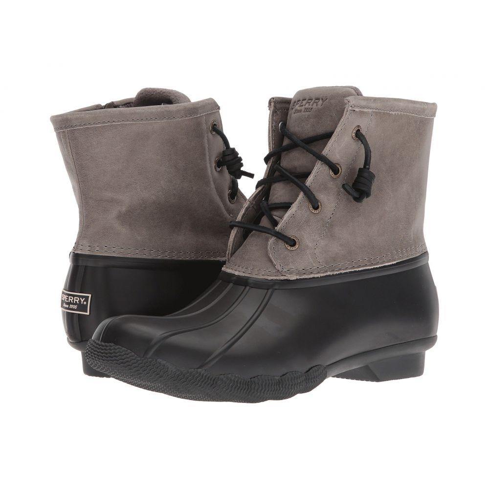 スペリー Sperry レディース レインシューズ・長靴 シューズ・靴【Saltwater Core】Black/Grey