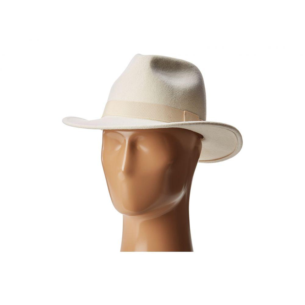 サンディエゴハット San Diego Hat Company レディース ハット フェドラ 帽子【WFH8039 Felt Fedora Hat】Ivory