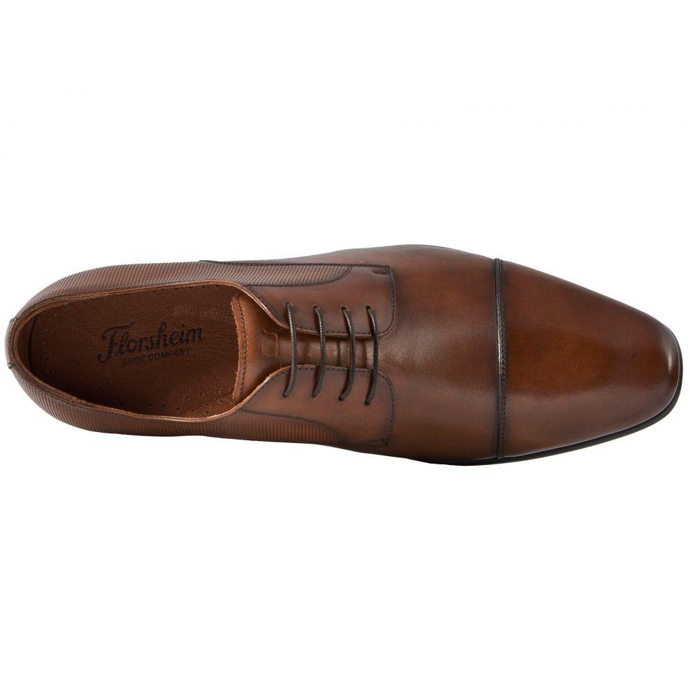 フローシャイム Florsheim メンズ 革靴・ビジネスシューズ シューズ・靴 Postino Cap Toe Oxford Cognac Smooth PerfFKJ3Tul1c
