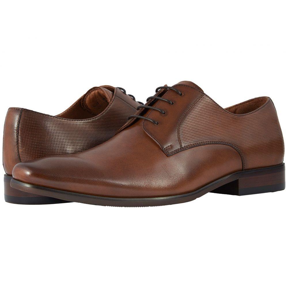 フローシャイム Florsheim メンズ 革靴・ビジネスシューズ シューズ・靴【Postino Plain Toe Oxford】Cognac Smooth/Perf