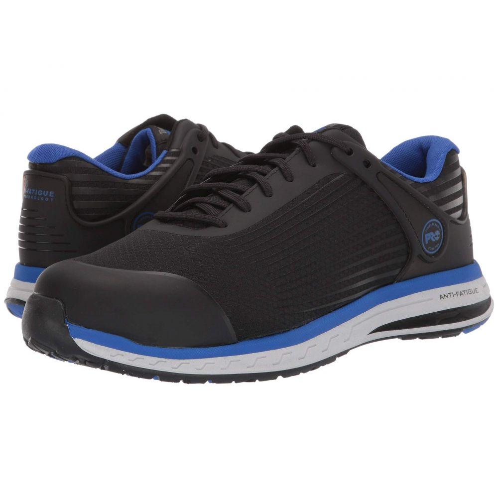ティンバーランド Timberland PRO メンズ シューズ・靴 【Drivetrain Composite Safety Toe】Black/Blue