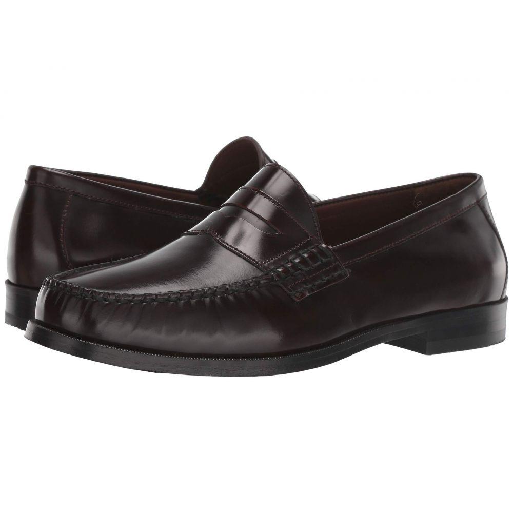 ジョンストン&マーフィー Johnston & Murphy メンズ ローファー シューズ・靴【Panell Penny】Burgundy