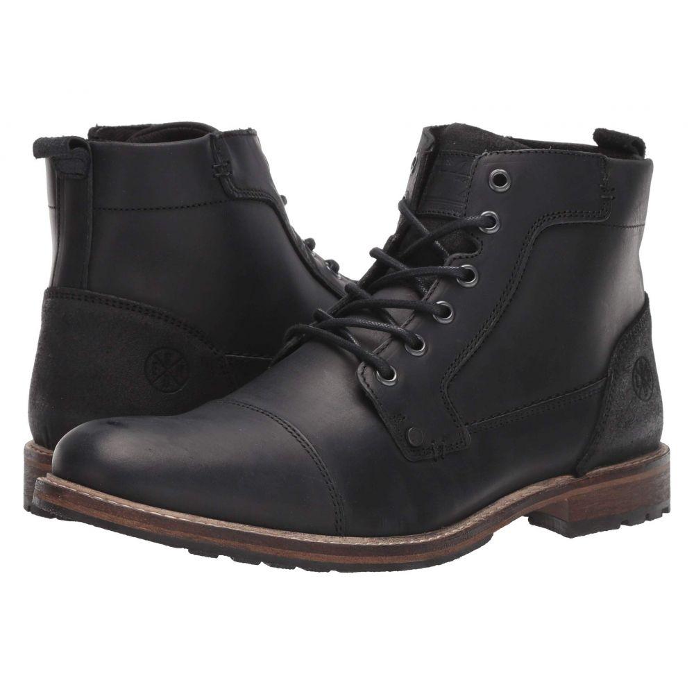 ブルボクサー Bullboxer メンズ ブーツ シューズ・靴【Adems】Black