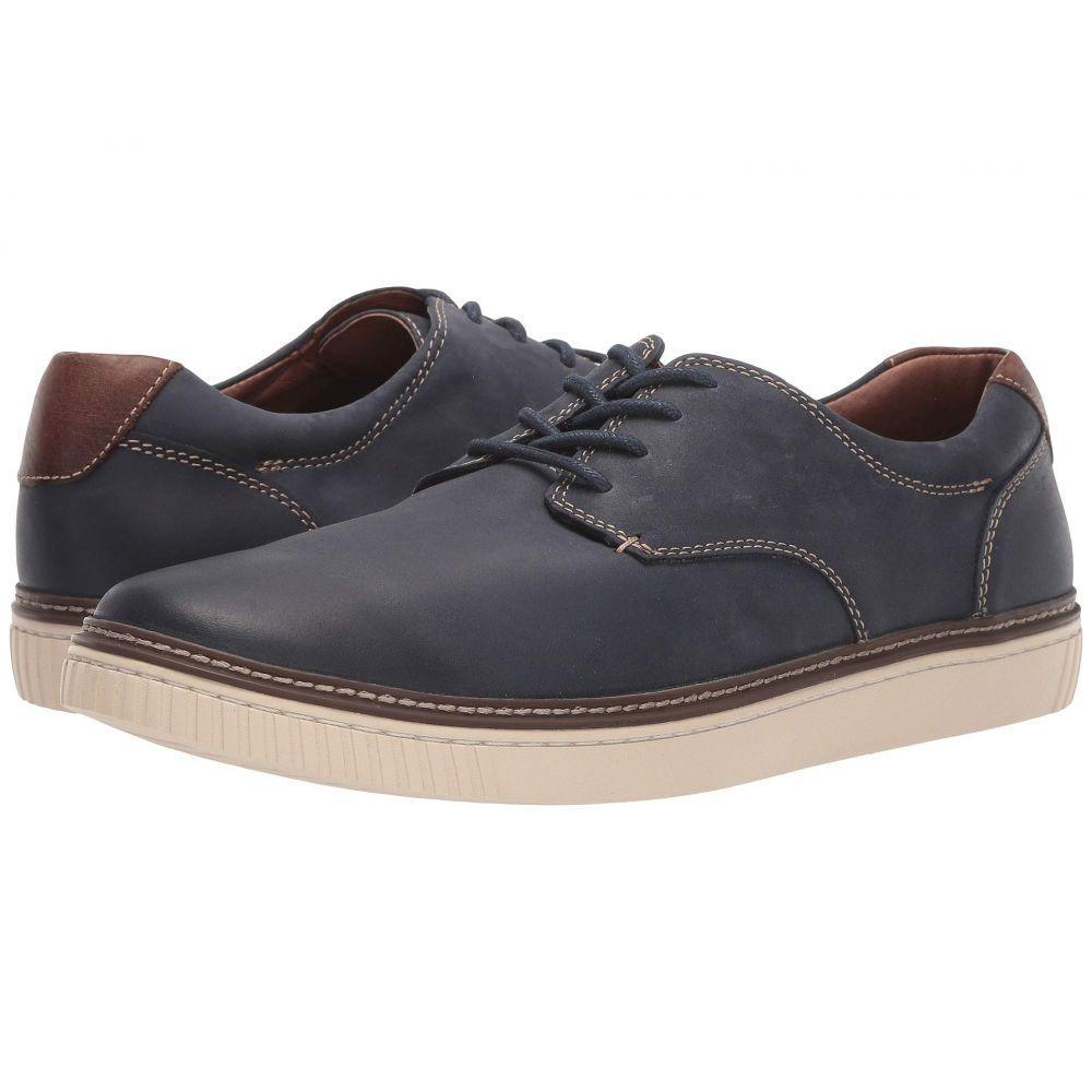 ジョンストン&マーフィー Johnston & Murphy メンズ スニーカー シューズ・靴【Walden Casual Plain Toe Sneaker】Navy