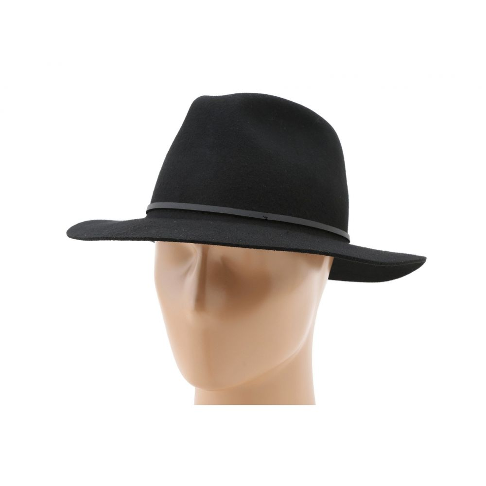ブリクストン Brixton レディース ハット フェドラ 帽子【Wesley Fedora】Black