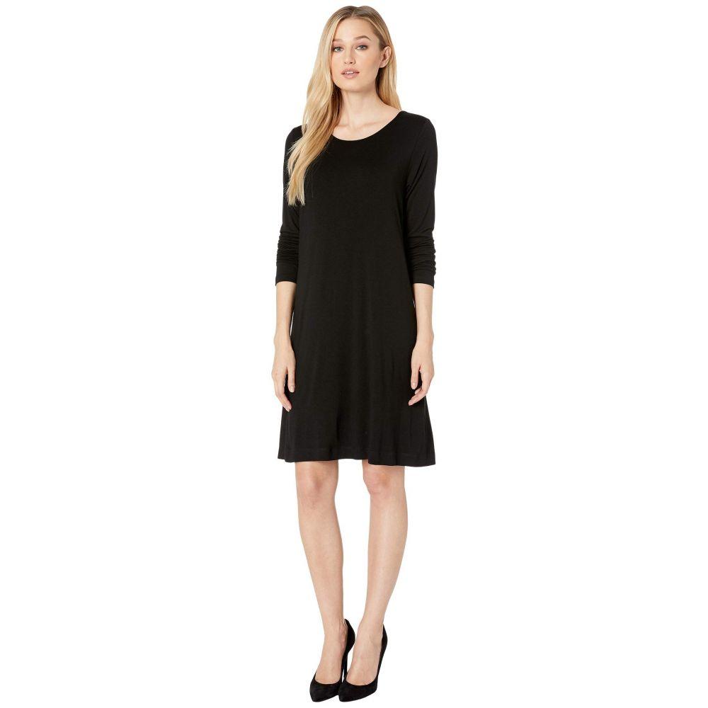カレンケーン Karen Kane レディース ワンピース Tシャツワンピース ワンピース・ドレス【Abby T-Shirt Dress】Black