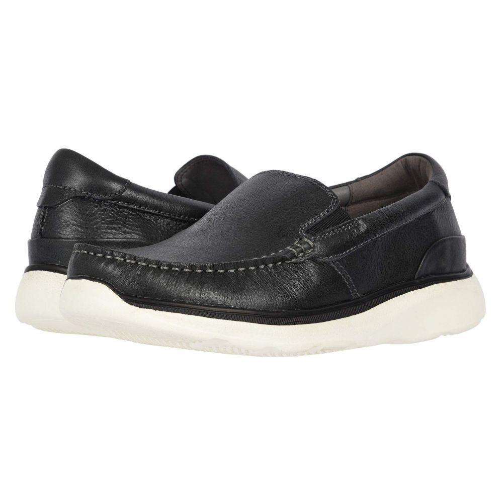 プロペット Propet メンズ ローファー シューズ・靴【Otis】Black Full Grain Leather
