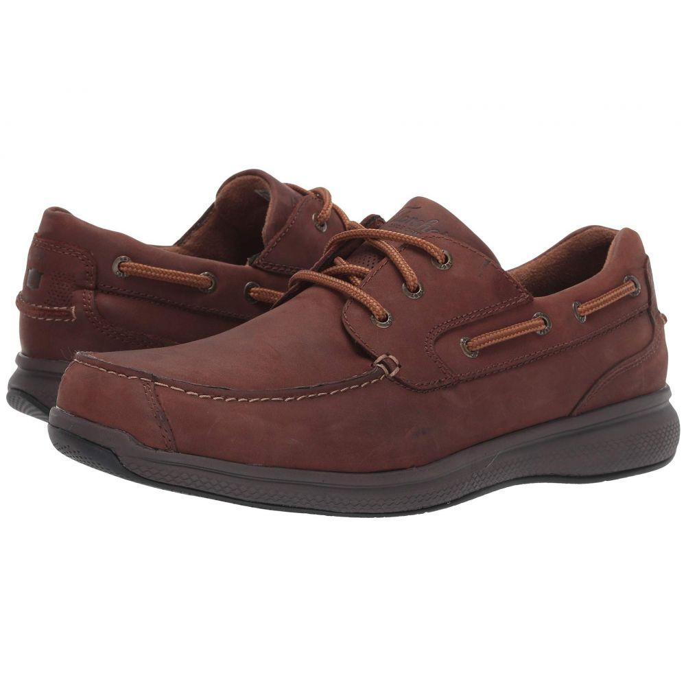 フローシャイム Florsheim Work メンズ ローファー レースアップ シューズ・靴【Bayside Steel Toe Lace-Up】Brown