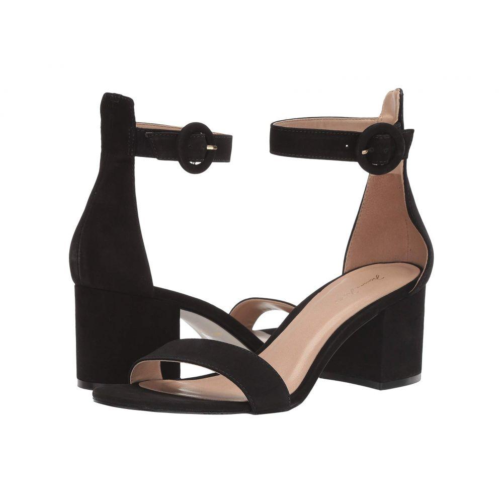 マッテオ マッシモ Massimo Matteo レディース ヒール シューズ・靴【Strappy Block Heel】Black Nubuck