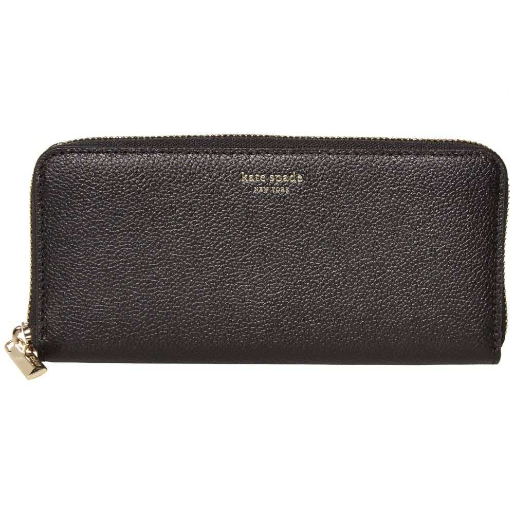 ケイト スペード Kate Spade New York レディース 財布 【Margaux Slim Continental Wallet】Black