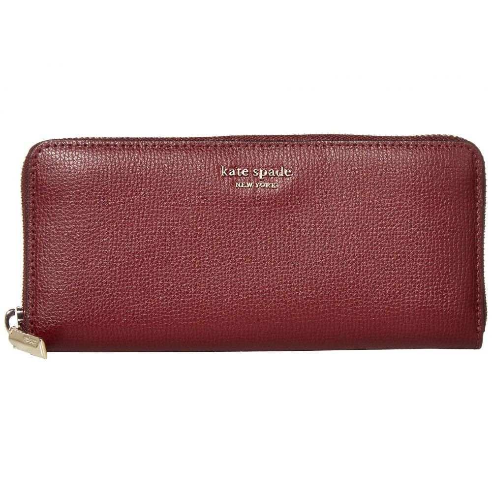 ケイト スペード Kate Spade New York レディース 財布 【Margaux Slim Continental Wallet】Cherrywood