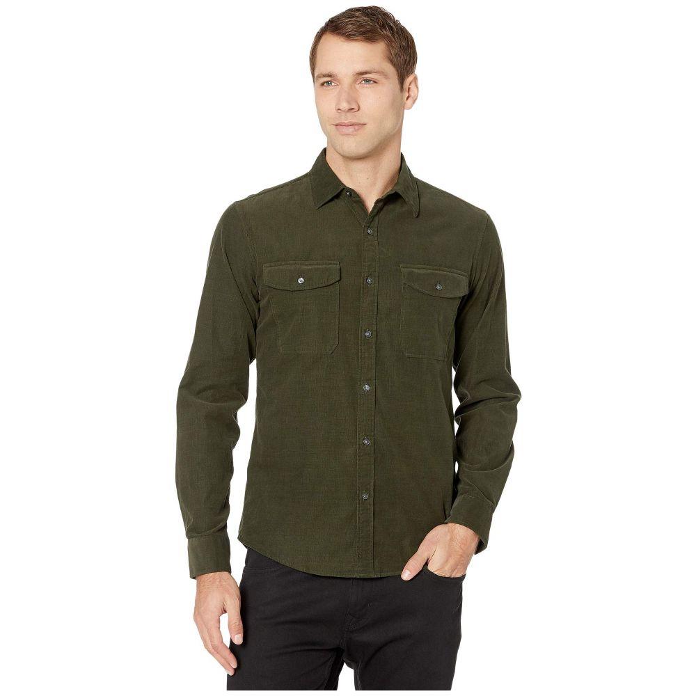 マイケル コース Michael Kors メンズ シャツ トップス【Long Sleeve Two-Pocket Corduroy Shirt】Ivy