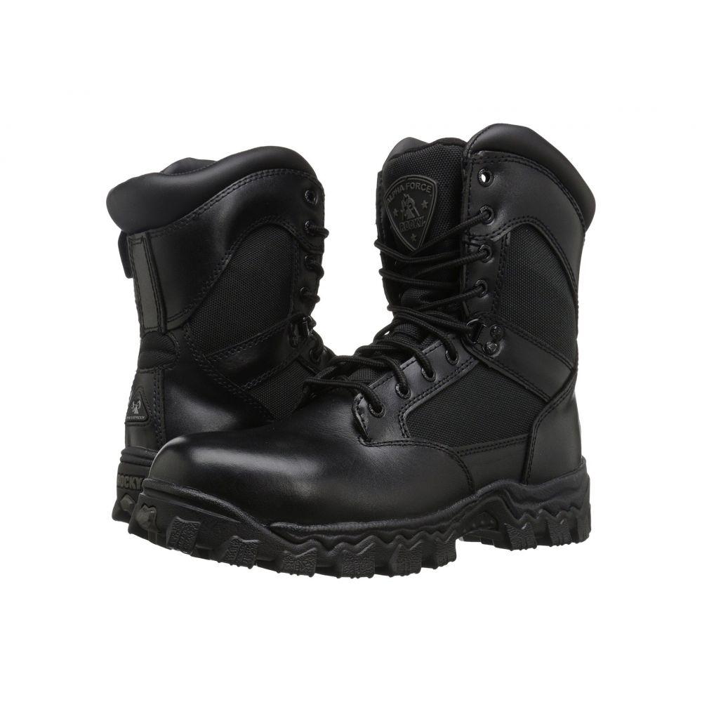 ロッキー Rocky メンズ ブーツ シューズ・靴【8' Alphaforce Comp WP】Black
