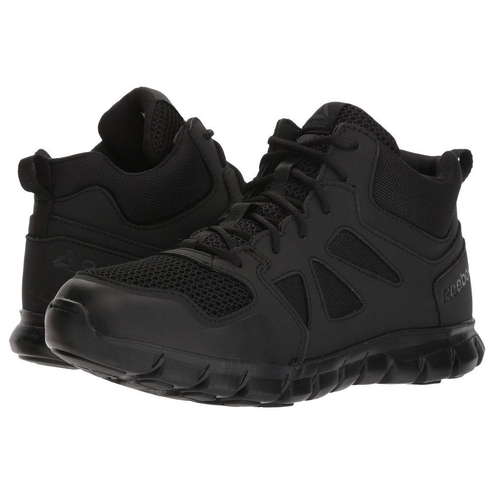 リーボック Reebok Work メンズ ブーツ シューズ・靴【Sublite Cushion Tactical Mid】Black