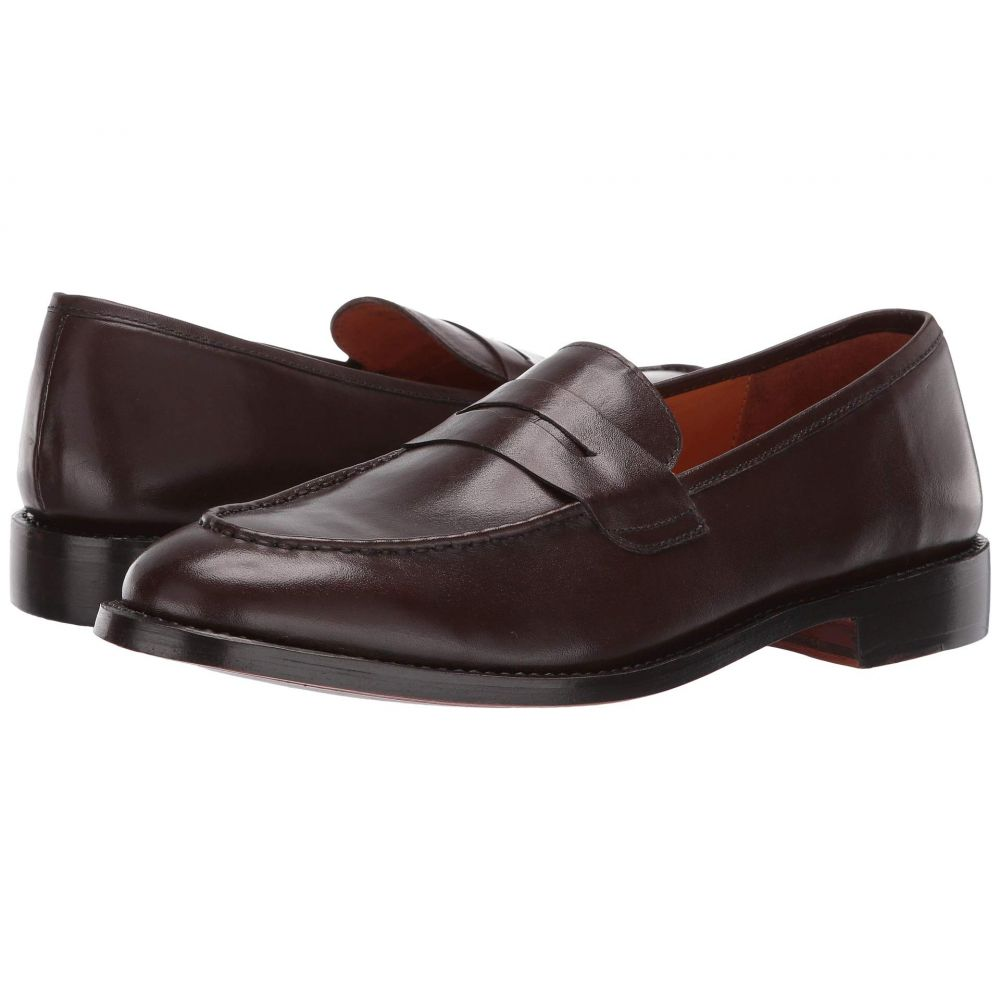 カルロスサンタナ CARLOS by Carlos Santana メンズ ローファー シューズ・靴【Crucero Penny Loafer】Mocha Calfskin Leather