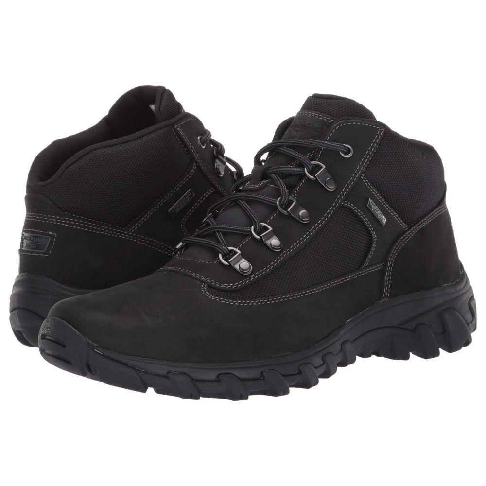 ロックポート Rockport メンズ ブーツ チャッカブーツ シューズ・靴【Cold Springs Plus Chukka】Black Nubuck