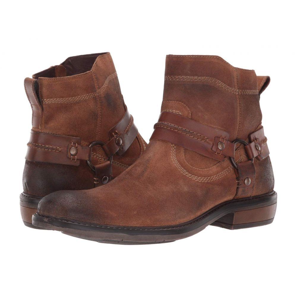 ロエン Roan メンズ ブーツ シューズ・靴【Humboldt II】Tan Suede Burnished