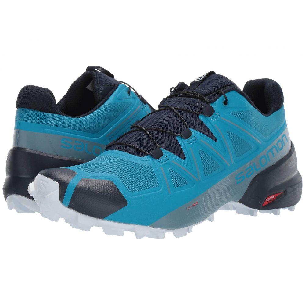 サロモン Salomon メンズ ランニング・ウォーキング シューズ・靴【Speedcross 5】Fjord Blue/Navy Blazer/Illusion Blue