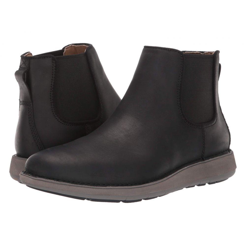 クラークス Clarks メンズ ブーツ シューズ・靴【Un Larvik Up】Black Oily Leather