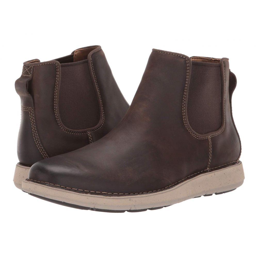 クラークス Clarks メンズ ブーツ シューズ・靴【Un Larvik Up】Brown Oily Leather