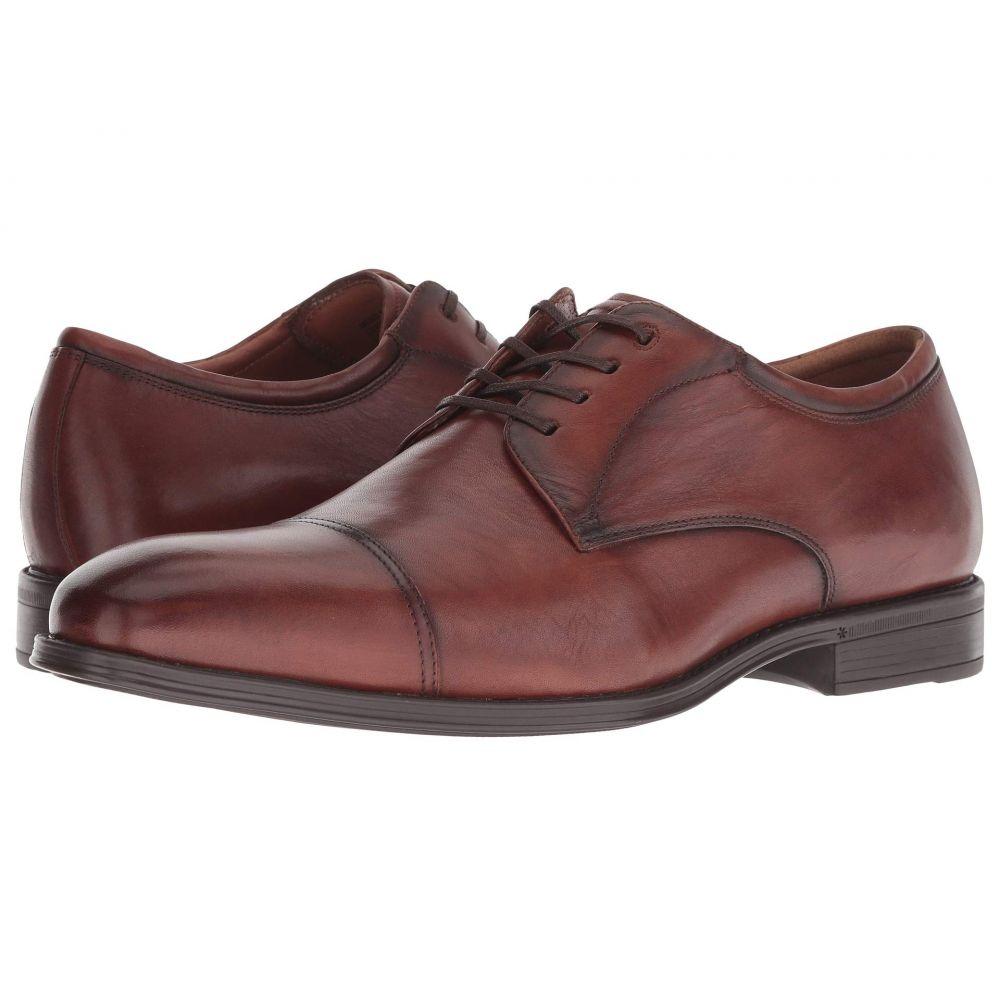 フローシャイム Florsheim メンズ 革靴・ビジネスシューズ シューズ・靴【Amelio Cap Toe Oxford】Cognac Smooth