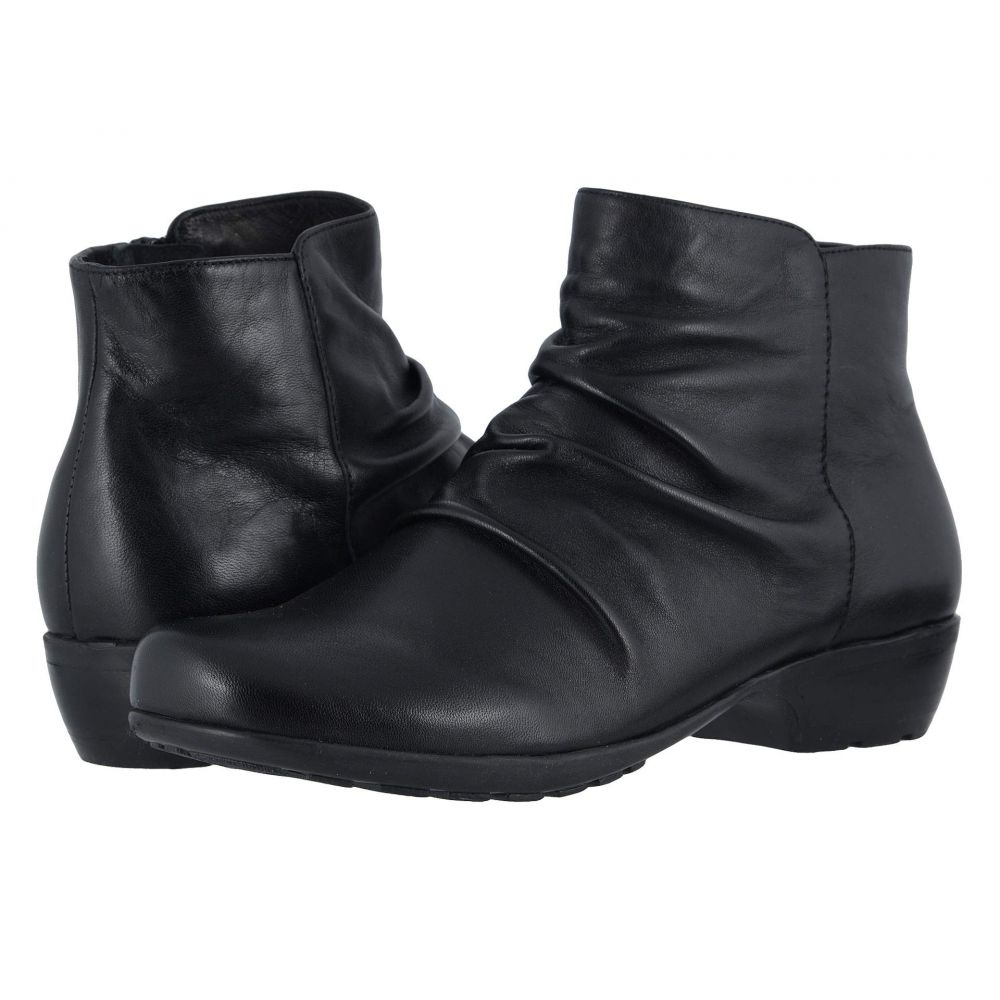 ウォーキング クレードル Walking Cradles レディース ブーツ シューズ・靴【Esme】Black Nappa