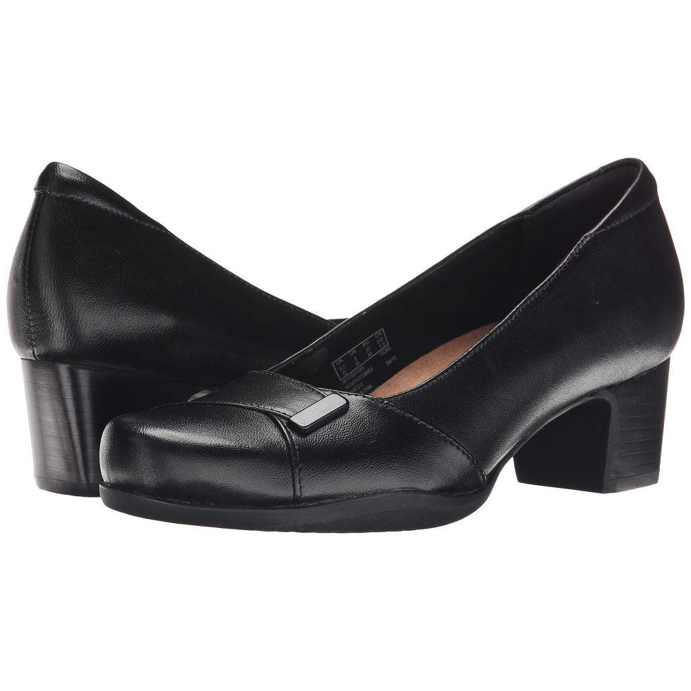 クラークス Clarks レディース ヒール シューズ・靴【Rosalyn Belle】Black Leather