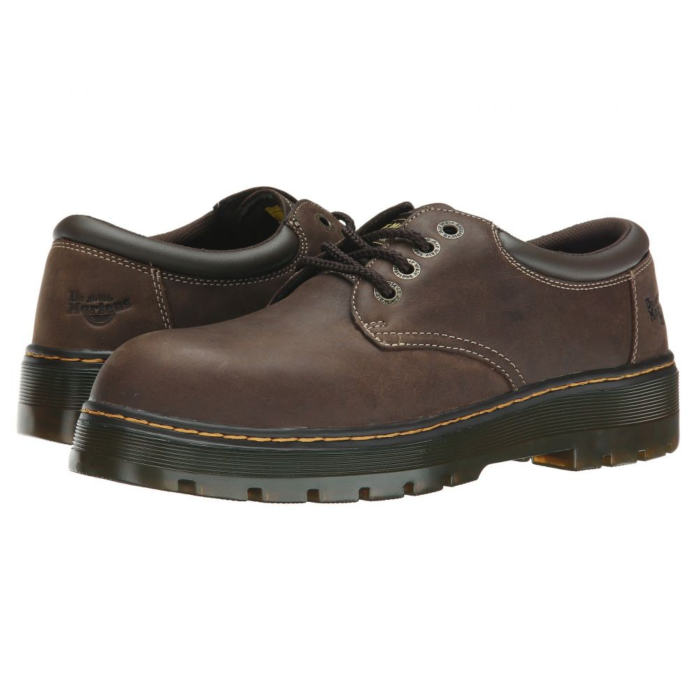 ドクターマーチン Dr. Martens Work メンズ 革靴・ビジネスシューズ シューズ・靴【Bolt ST】Dark Brown Wyoming/Brown PU