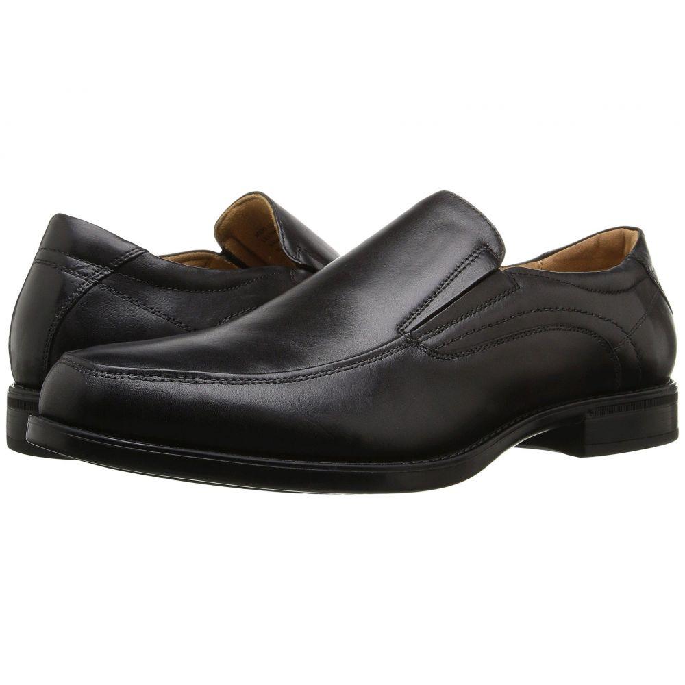 フローシャイム Florsheim メンズ スリッポン・フラット モックトゥ シューズ・靴【Midtown Moc Toe Slip-On】Black Smooth