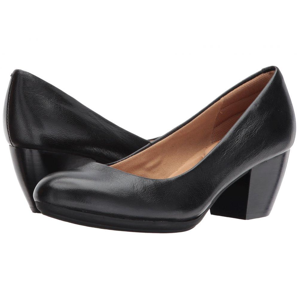 コンフォーティヴァ Comfortiva レディース ヒール シューズ・靴【Amora】Black River Leather